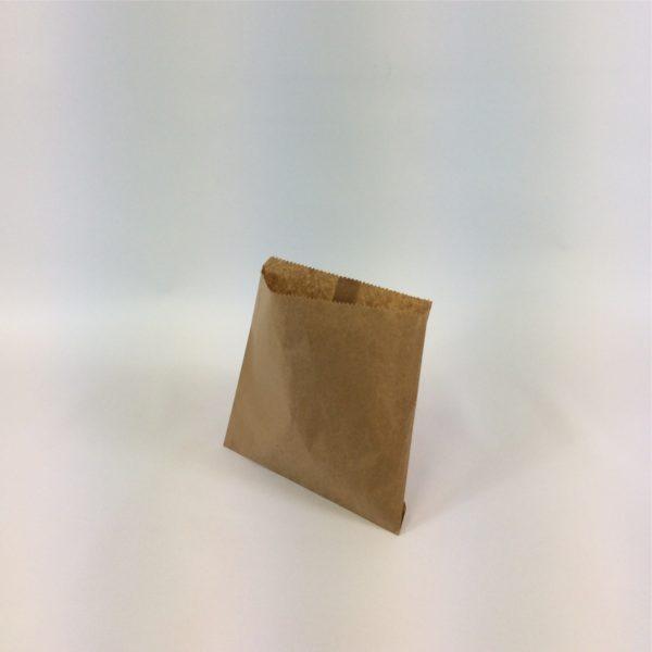 Brown 215x215mm Flat Paper Bag