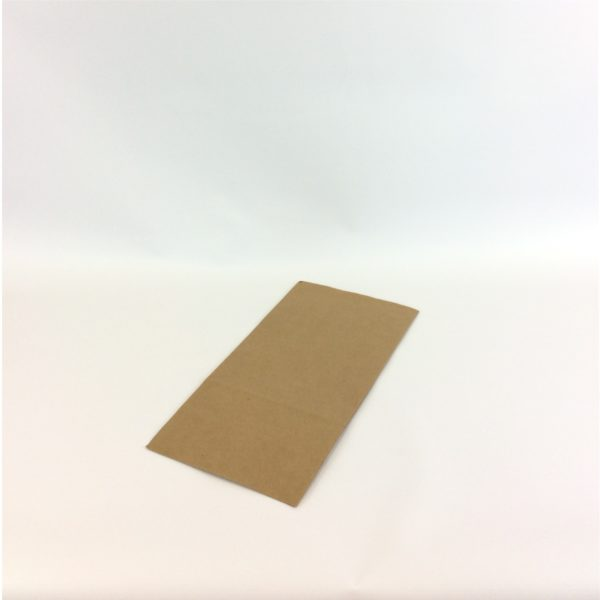 Brown Kraft 175+115x345mm S.O.S. Satchel Bag - Lay Flat