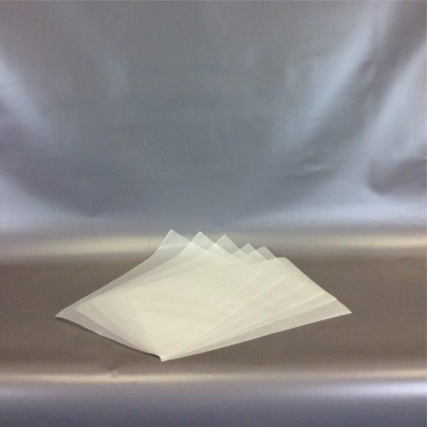 Plain White 250x375mm x 60gsm Foodgrade Wax Paper