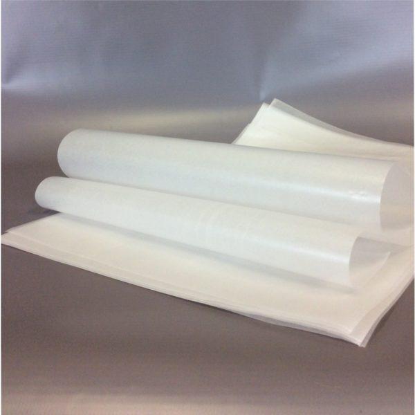 Plain White 250x375mm x 60gsm Foodgrade Wax Paper.5