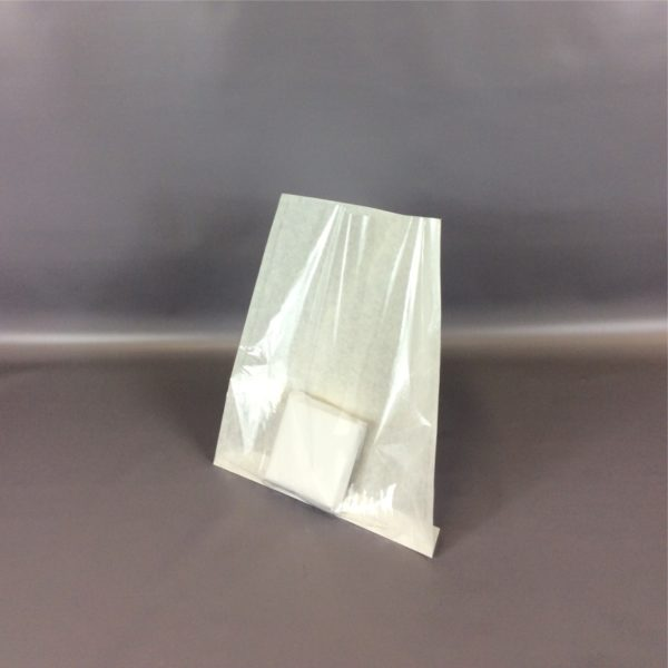 White 250x300mm Film Front Paper Bag