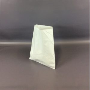 White 250x300mm Sulphate Flat Strung Paper Bag