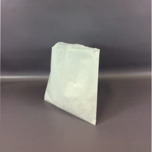 White 315x300mm Sulphate Flat Strung Paper Bag