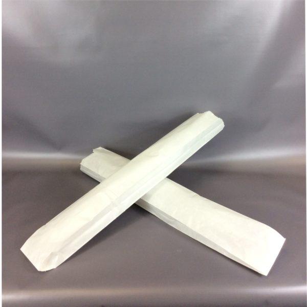 White Sulphite 100x150x600mm Baguette Bag