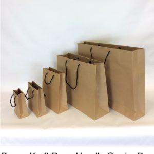 Brown Kraft Rope Handle Bag