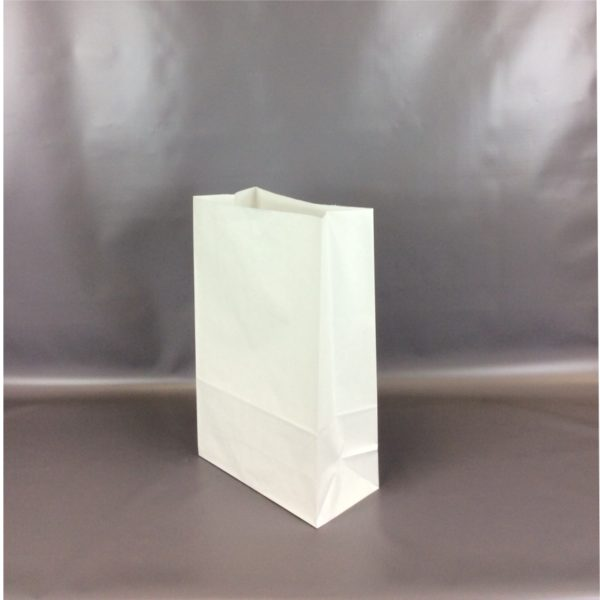 White Kraft 260x130x405mm SOS Bag With Open Top