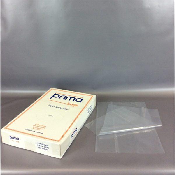 Clear 200g LDPE 250x375mm Bag