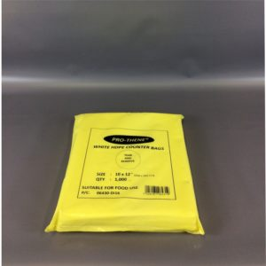 HDPE 250x300mm Pro-thene Counter Bags