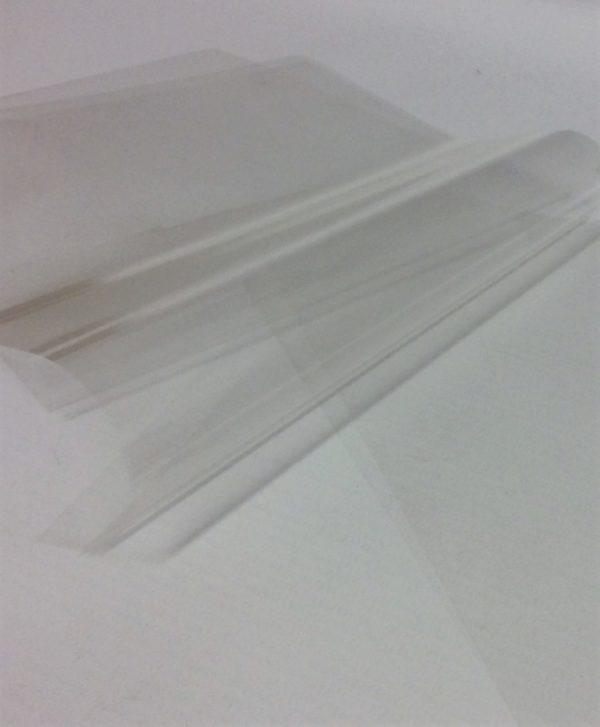 Polyprop butcher sheet 125x190mm.