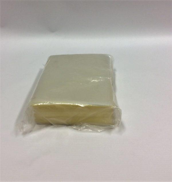 Polyprop butcher sheet 125x190mm