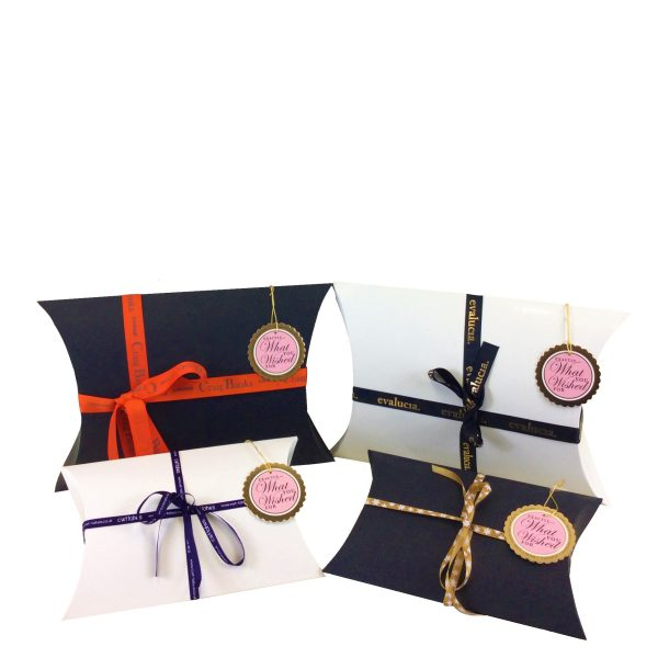 Black & White Pillow Box Made Up