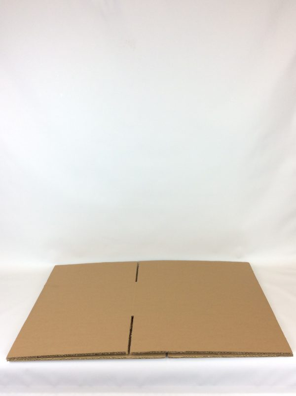 Cardboard box flat