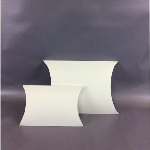 White Pillow Box Duo - Large and Jumbo